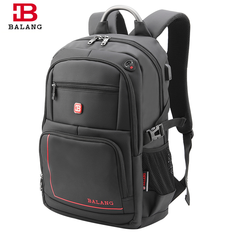 BaLang Mens Backpacks for Laptop Man Daily Rucksack Notebook Travel Bag School Bags 15.6 inch Women Bagpack Mochila Feminina<br>