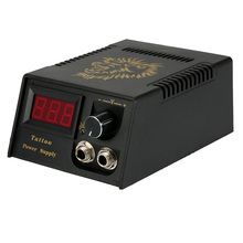Top Selling Professional Digital LCD Tattoo Power Supply High Quality Black Tattoo Power Supply For Tattoo Machine Free Shipping