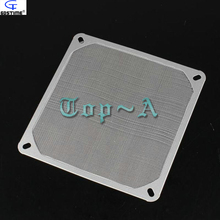 1 pcs/lot Aluminum Dustproof Filter Dust Mesh Strainer For 140mm PC Computer Cooling Fan(China)