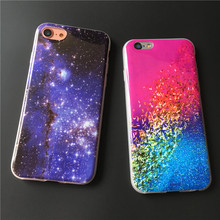 Luxury Starry Sky Phone Cases For iPhone 5s Case Colorful Star Silicon Soft Back Cover Funda For iPhone 5 5s se Coque   C39