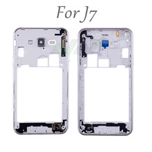Mid Middle Frame Bezel Housing Cover Plate  For Samsung Galaxy J7 replacement part repair parts free shipping