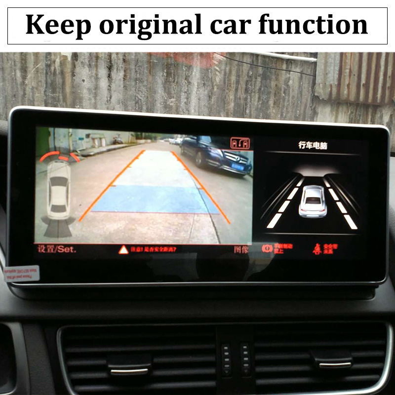 Liislee Car Multimedia Player NAVI 10.25 inch For Audi A6 C6 4F 2004~2011 Riginal Car MMI Style Radio Stereo GPS Navigation (7)