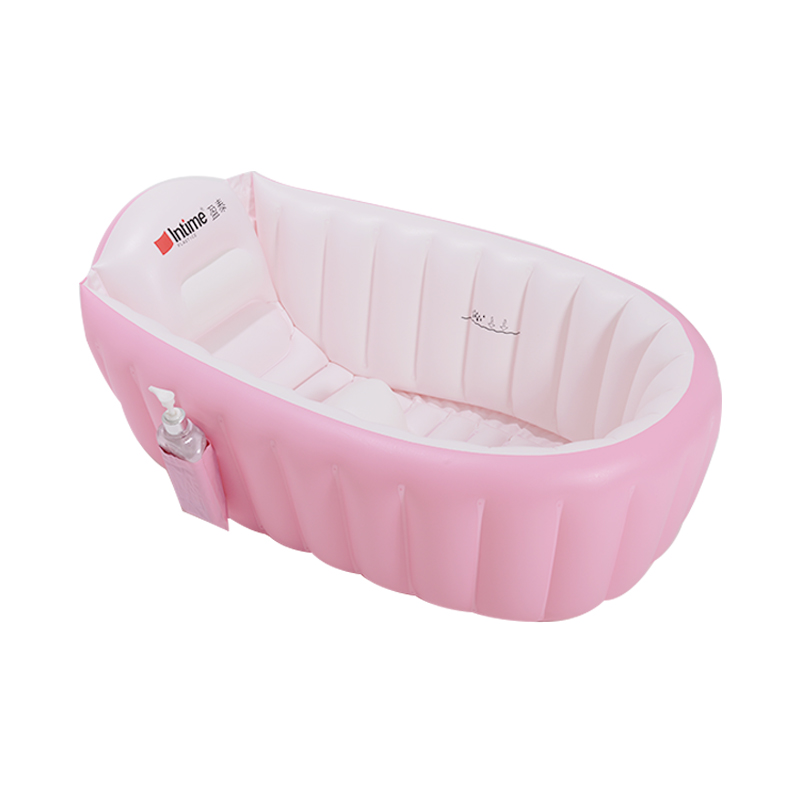 Baby Bathtub Inflatable Portable Cartoon Collapsible Safety ...