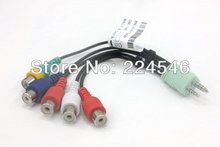 ORIGINAL/Genuine BN39-01154W Audio Video AV Component Adapter Cable for Samsung LED TV`S