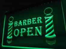 LB044- Barber Poles Display Hair Cut NEW Light Sign     home decor  crafts