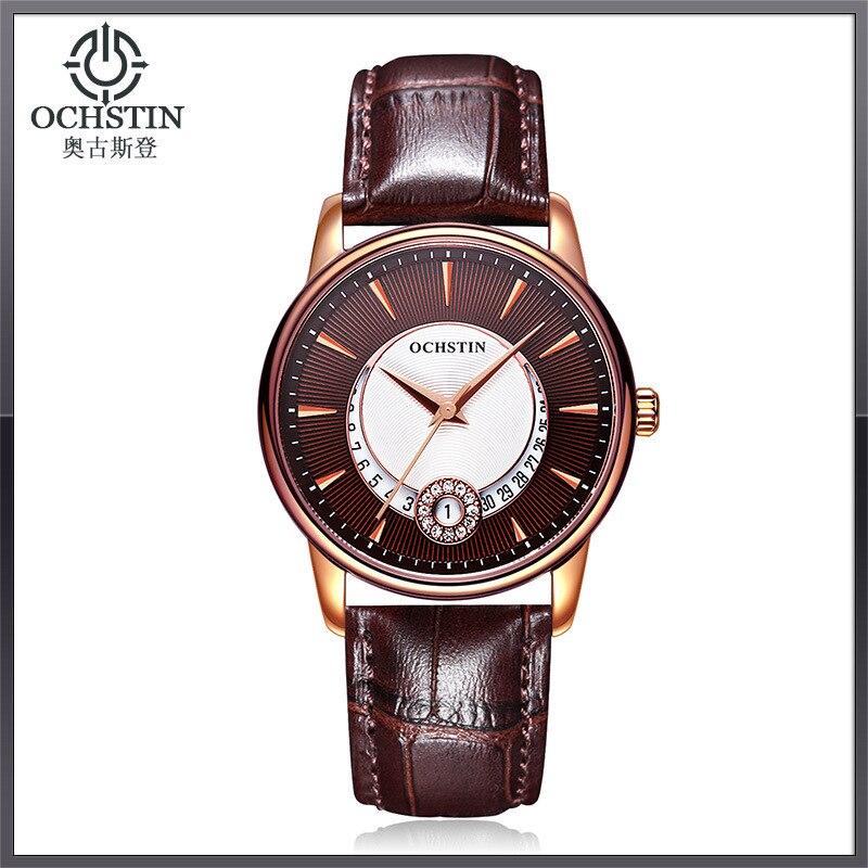 OCHSTIN Ladies Women Watches Waterproof Leather Bracelet Watch Women Sapphire Quartz Wrist Watch Girl Hand Clock Hodinky Women<br>