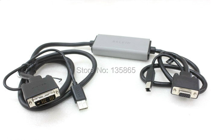 ORIGINAL/Genuine DVI to VGA Smart USB KVM Cable 6FT F1D9008B06<br>