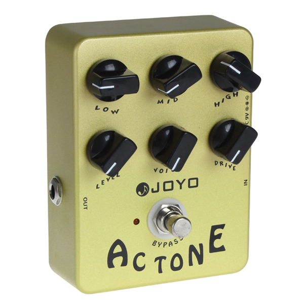 JOYO JF-13 Vox AV-30 Tone Guitar Effects with Classic British Rock Sound<br>