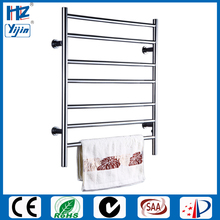 Free Shipping Stainless Steel Electric Wall Mounted Towel Warmer ,Bathroom Accessories Racks,Heated Towel Rail HZ-926(China)