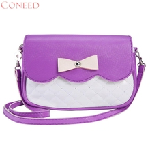 CONEED Fashion Handbacks Charming Nice Bowknot Fashion Crossbody Bag Sep5 R30(China)