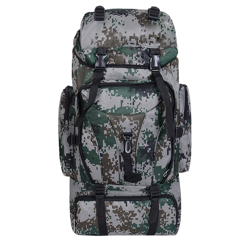 Myvision Men Camping Waterproof Travel Military Army Bags Molle Tactical Rucksacks Camouflage Hiking Backpacks 70L<br>