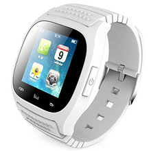 SmartWatch Bluetooth Smart Watch M26 with LED Display / Dial / Alarm /Pedometer for Android IOS HTC Mobile Phone(China)