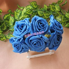 7.5CM,MixColors Floral Foam Artificial EVA  Large Roses,Romantic Wedding Bridal Bouquet,Dining Table Decoration And Accessories
