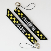 "Flight Crew Luggage bag Tag "" Follow Me"" Yellow Grid Black Bag Tag Gift for Aviation Lover Airport Workers(China)"