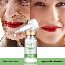 QYANF Argireline Serum Six Peptides Serum Collagen Vitamin C Serum Skin Defender Lighten Dark Spots Skin Instantly ageless(China)