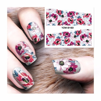 ZKO 2017 New Dream Catcher Water Transfer Nail Art Sticker Water Decals DIY  Decoration For Beauty Nail Tools  8160
