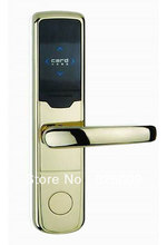 Temic card electric hotel lock safe security door lock with free management software system(China)