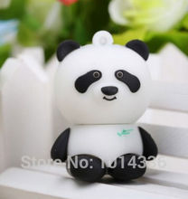 China treasure Panda  USB Flash Drive Memory Card Stick Thumb/Car key/Pendrive U Disk/creative Gift cartoon animal 8GB 16GB 32GB