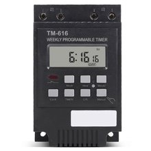 Smart Programmable Electronic Timer Switch 12V Microcomputer Time Controller For street light advertise light household NEW