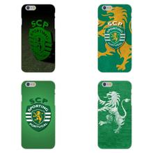 Sporting Club Portugal Soft TPU Silicon Cool Best Cover Case For Apple iPhone 4 4S 5 5C SE 6 6S 7 7S Plus 4.7 5.5