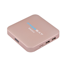 China factory android iptv box support 4k mini avdroid web tv box With Freesat brand
