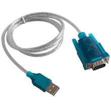 New Fashion USB To RS232 Serial DB9 Pin COM Port Converter Cable Adapter For GPS Windows XP WIN 7 high quality
