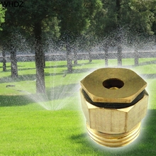 Brass Sprinkler 360 Degree Garden Sprinkle Connector Thread Water Sprinkler Irrigation Spray Nozzle Watering Head Brass Supplies(China)