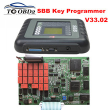 Best Quality SBB Key Programmer Auto Transponder Silca SBB V33.02 Suppports Multi-Brand Cars Programming New Key Maker Tool(China)
