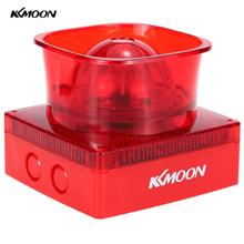 KKmoon Fire Alarm Siren Wired Sound & Strobe Alert Horn 110dB Red Flash Light Safety System For Home Office Hotel Warning Sensor