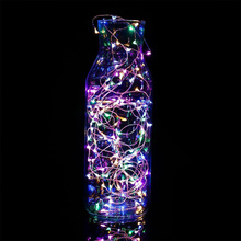 Buy 2M 20 LEDs Copper Wire String Lights Lamps Christmas Holiday Wedding Party Garden Home Decoration Supplies E2S for $1.18 in AliExpress store