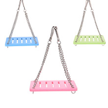 Small Pet Animal Hanging Swing for Hamster / Chinchillas / Guinea Pigs Funny Toys Play Toys Chew Toy Small Animal Playground