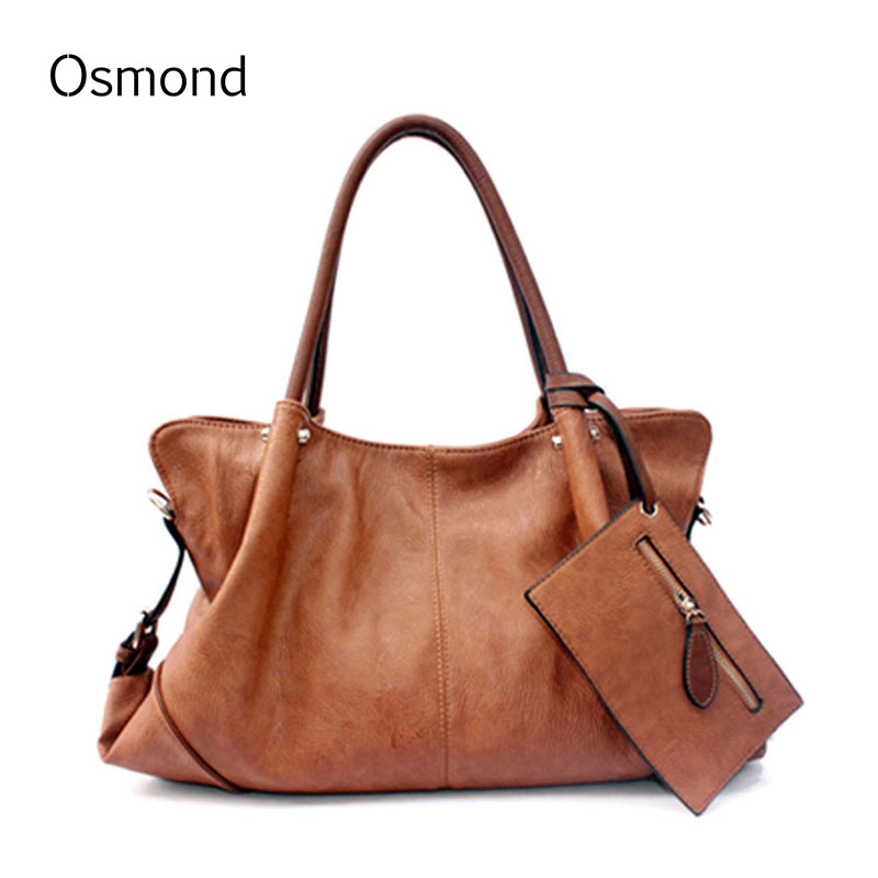 Osmond Vintage Brand 3Pcs Bag Sets Woman Bags Bag Handbag Fashion Handbags High Quality Crossbody Bag<br>
