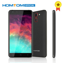 Original HOMTOM HT30 Fingerprint Smartphone MT6580 Quad Core Android 6.0 1GB RAM 8GB ROM 5.5 Inch 1280x720 3G Unlock Cellphone