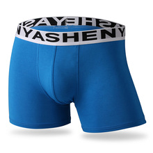 Buy 2018 Bamboo Fiber sexy Underwear Men Brand comfortable breathable Boxer Shorts solid soft Underpants Middle-waisted Male Panties