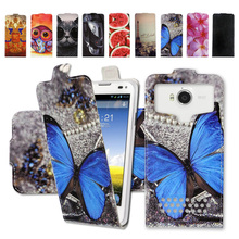 Factory Price,Newest Luxury,Up and Down Cartoon Universal PU Leather Case,Flip-case for Nokia Lumia 630 635 + Gift