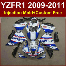 FIMER Motorcycle body parts for YAMAHA fairings YZFR1 2009 2010 2011 Injection YZFR1 09 10 11 12 R1 bodyworks YZF1000 R1 +7Gifts