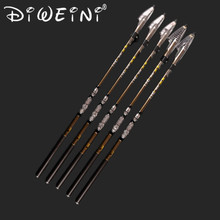 Newest Design Fishing Rod Stream Hand Carbon Fiber Casting Telescopic Lightweight Toughness Fishing Rods 3.6M 4.5m,5.4m,6.3m(China)