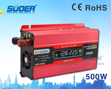 Suoer digital display 12v 220v inverter solar power system 300w power inverter(SDB-500A)