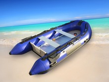 Free Sea Shipping 11' GTS330 Goethe  Aluminum Floor Inflatable Boat Sports Boat Fishing Boat