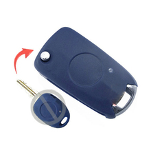 1 Button Replacement Modified Flip Remote Key Shell Case For Fiat Palio Siena Keyless Entry Fob Key Cover 10PCS/lot(China)