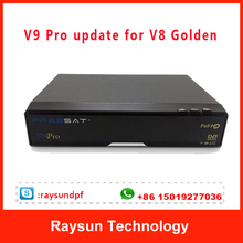 DVB C/T2 TV Cable starhub box V9 Pro Upgrade for V8 golden support WIFI+Youtube tv receiver for Singapore
