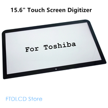 LCDOLED 15.6'' Touch Screen Digitizer Glass Panel Laptop For Toshiba Satellite P50t-B Series P50t-BT02m B-104 108 112 118(China)
