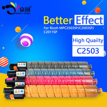 1pcs Toner Cartridge Compatible for Ricoh MPC2503 MPC2003 MPC2011 HC MP C2503 C2003 C2011 SP , BK-15K ; C/Y/M-9.5K