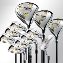 New Golf clubs HONMA U100 complete clubs set Driver+3/5 fairway wood+irons+putter Graphite Golf shaft Headcover Free shipping