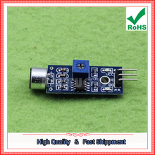 Free Shipping 5pcs Sound Sensor Sound Detection Module Microphone Module Sound Control Whistle Switch Sound Module board (C7B4)