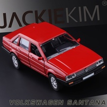 High Simulation Exquisite Collection Toys: ShenHui Car Styling Volkswagen Classic Santana Model 1:32 Alloy Car Model Best Gifts