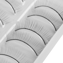 10 Pairs/Set False Eyelashes Handmade Training Lashes For Beginners Teaching Lashes Eye Extension Tools Practice Hot Sale(China)