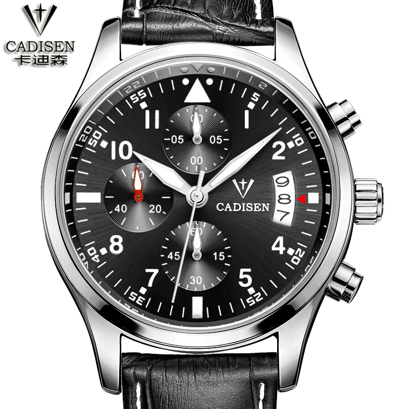 Men Stainless steel and leather Watches Top Brand Luxury Famous Male Clock Sport Quartz-watch Relogio Masculino<br><br>Aliexpress