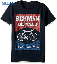 Round Collar Short Sleeve Tee Shirts Schwinn Men's Go With Short Sleeve Graphic T-shirt