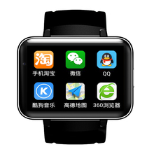 Wifi GPS Android 4.4 Smart Watch Phone Dual Core  Support GSM 3G WCDMA SIM Card BT 4.0 Smart Wearable Sport Wristwatch Camera
